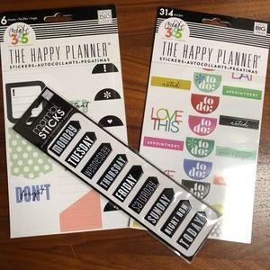 Me & My Big Ideas Planning Sticker Bundle